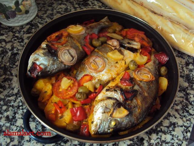 سمك درادا مغربى فى الفرن Imagen017