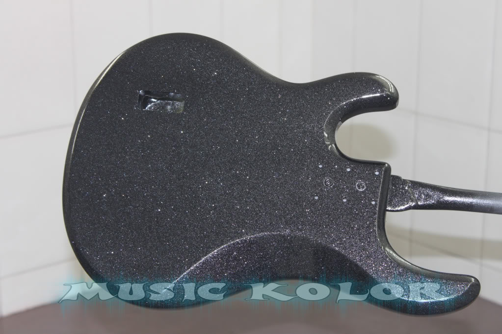 Pintura Music Man Black Sparkle - MUSIC KOLOR PintadoTras
