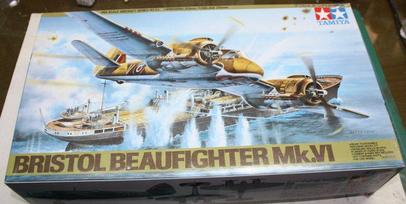 Bristol Beaufighter MK VI Tamiya 1/48 Beaufighter001