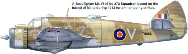 Bristol Beaufighter MK VI Tamiya 1/48 Beaufighter006