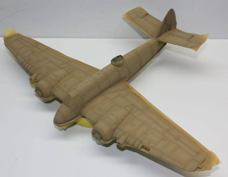 Bristol Beaufighter MK VI Tamiya 1/48 Beaufighter056