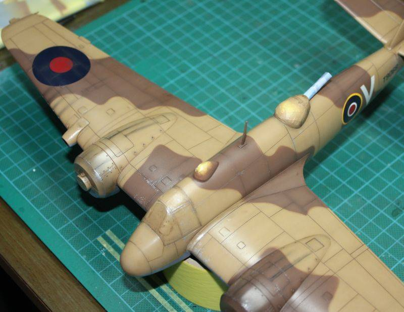 Bristol Beaufighter MK VI Tamiya 1/48 Beaufighter106