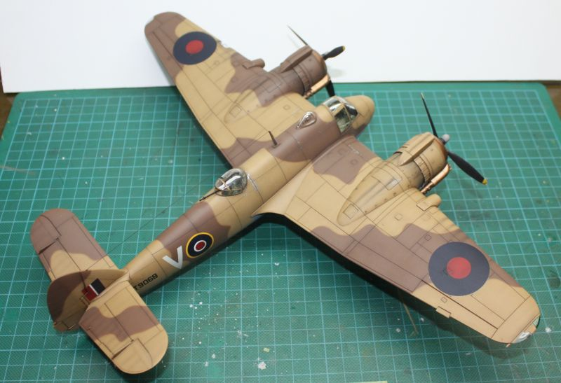 Bristol Beaufighter MK VI Tamiya 1/48 Beaufighter112