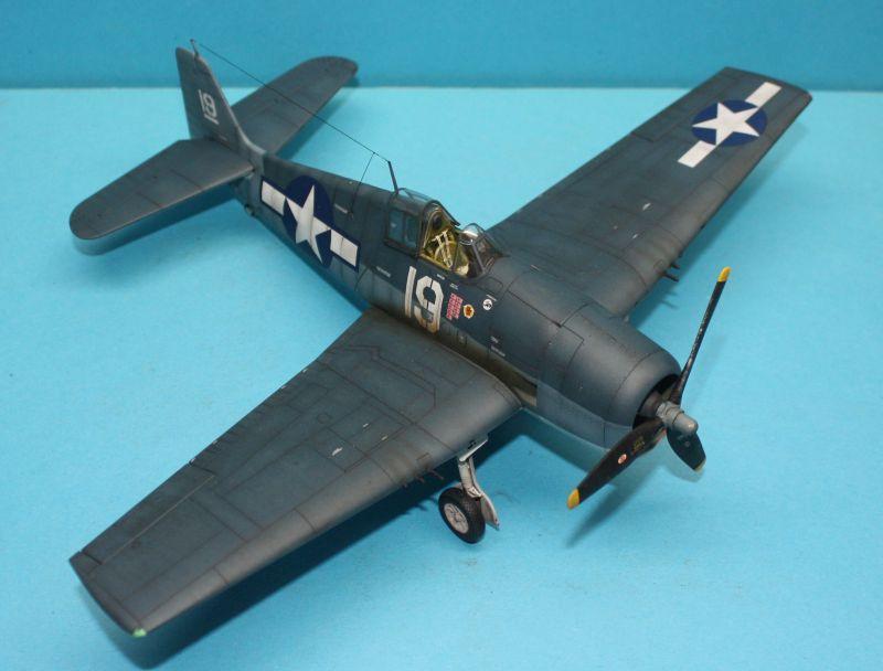 F6F-3 Eduard 1/48 F6F-3123