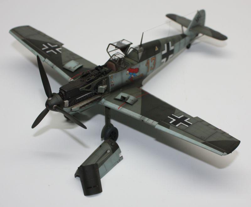 Me 109 E1 Eduard 1/48 Me109E1137