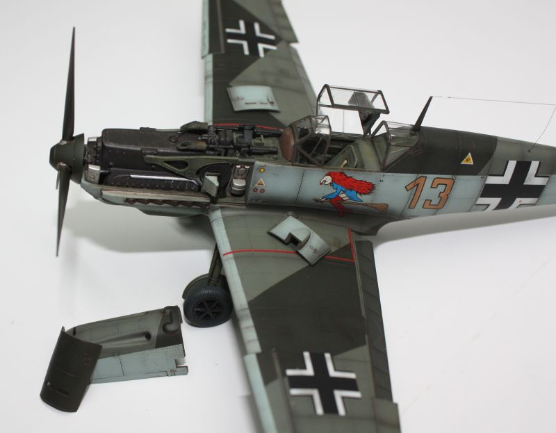 Me 109 E1 Eduard 1/48 Me109E1138