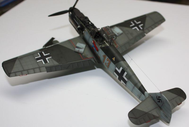 Me 109 E1 Eduard 1/48 Me109E1139