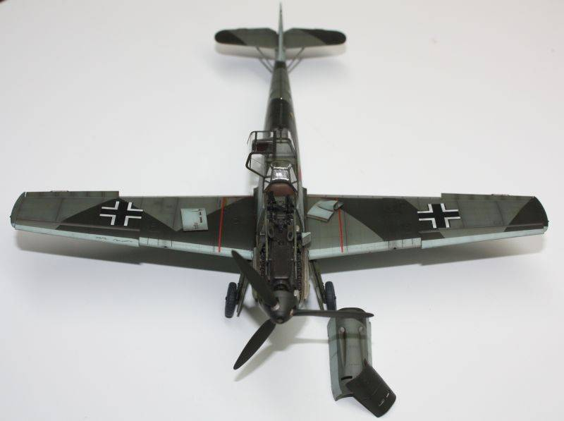 Me 109 E1 Eduard 1/48 Me109E1140