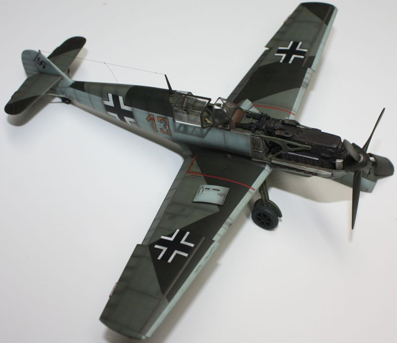 Me 109 E1 Eduard 1/48 Me109E1141