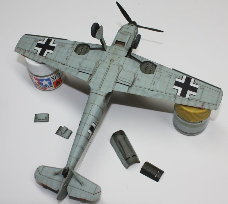 Me 109 E1 Eduard 1/48 Me109E1145