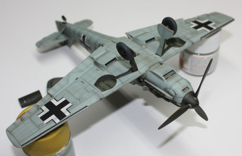 Me 109 E1 Eduard 1/48 Me109E1146