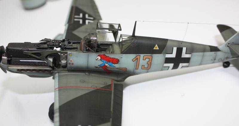 Me 109 E1 Eduard 1/48 Me109E1147