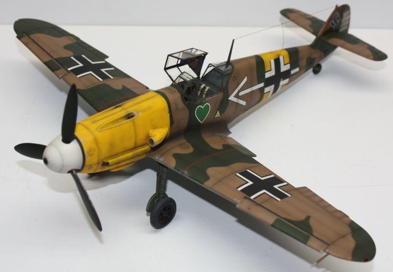 Me 109 F2 Hannes Trautloft - Hasegawa 1/32 Me109F2143