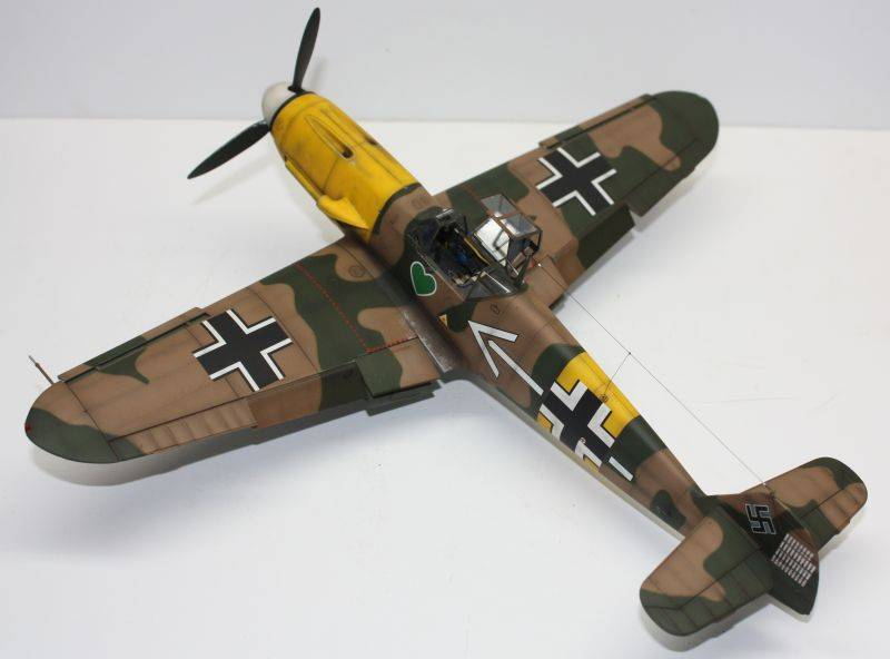 Me 109 F2 Hannes Trautloft - Hasegawa 1/32 Me109F2144