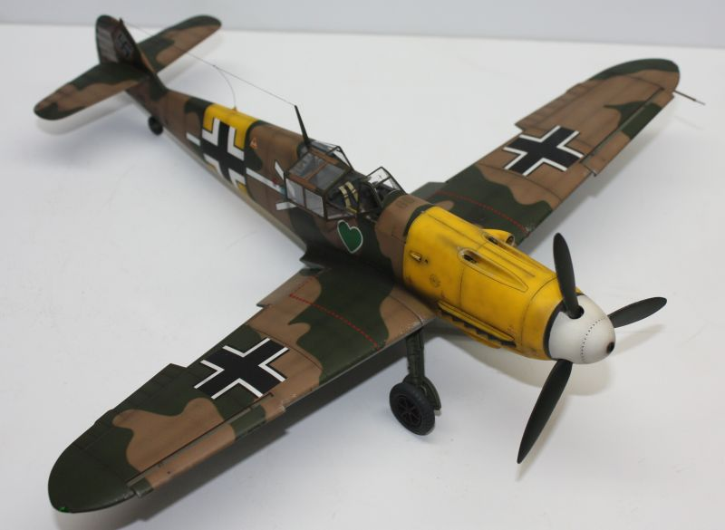 Me 109 F2 Hannes Trautloft - Hasegawa 1/32 Me109F2145