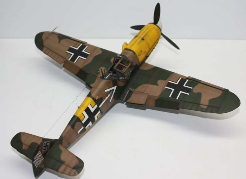 Me 109 F2 Hannes Trautloft - Hasegawa 1/32 Me109F2146
