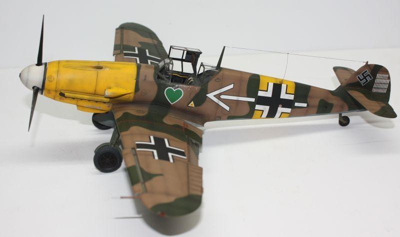 Me 109 F2 Hannes Trautloft - Hasegawa 1/32 Me109F2148