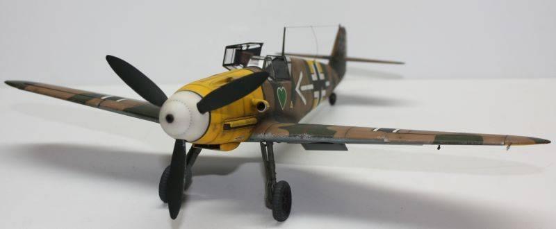 Me 109 F2 Hannes Trautloft - Hasegawa 1/32 Me109F2149