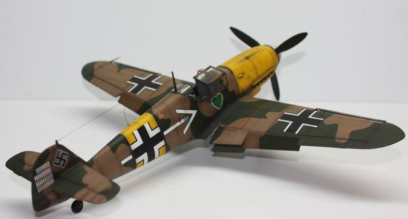 Me 109 F2 Hannes Trautloft - Hasegawa 1/32 Me109F2150