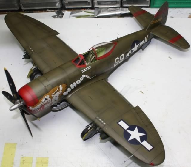 P 47 D Hasegawa 1/32 P47D154