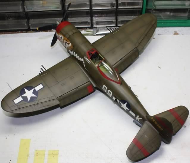 P 47 D Hasegawa 1/32 P47D155