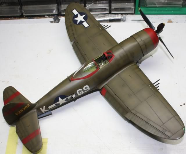P 47 D Hasegawa 1/32 P47D156