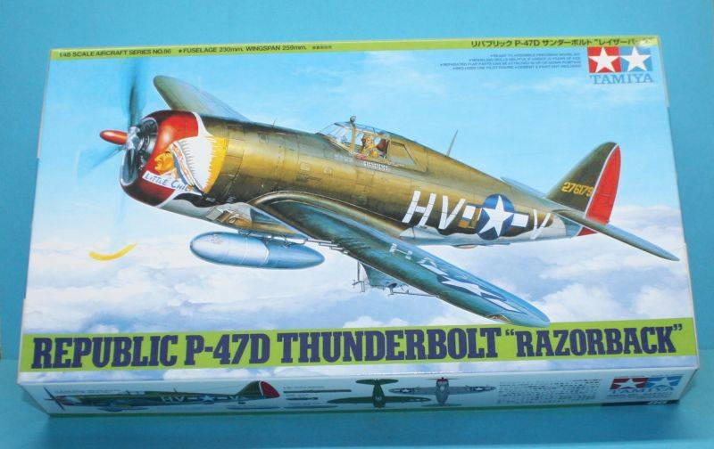 P-47 D Razorback Tamiya 1/48 P-47D001