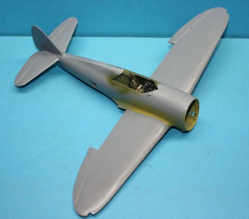 P-47 D Razorback Tamiya 1/48 P-47D029
