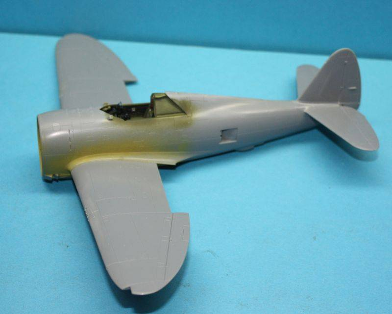P-47 D Razorback Tamiya 1/48 P-47D030