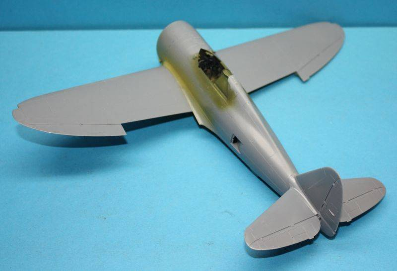 P-47 D Razorback Tamiya 1/48 P-47D031