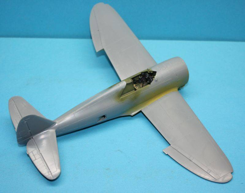 P-47 D Razorback Tamiya 1/48 P-47D032