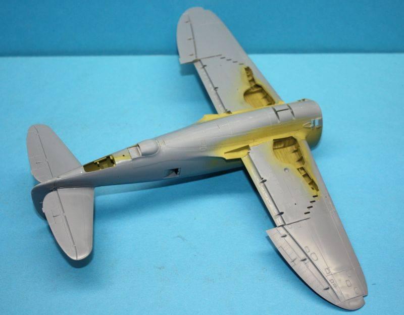 P-47 D Razorback Tamiya 1/48 P-47D033