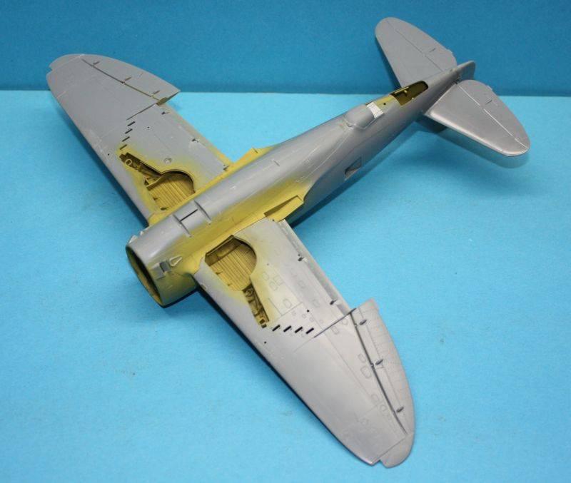 P-47 D Razorback Tamiya 1/48 P-47D034