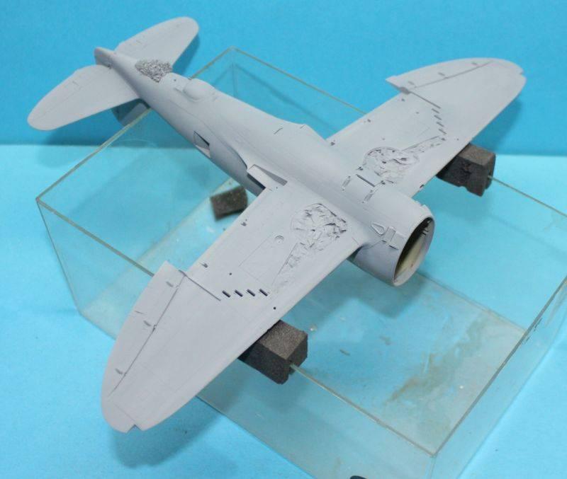 P-47 D Razorback Tamiya 1/48 P-47D038
