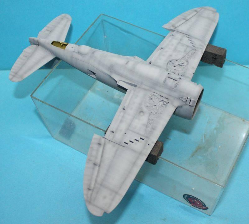 P-47 D Razorback Tamiya 1/48 P-47D055