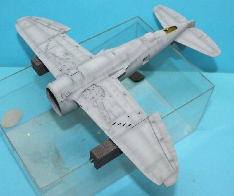 P-47 D Razorback Tamiya 1/48 P-47D056