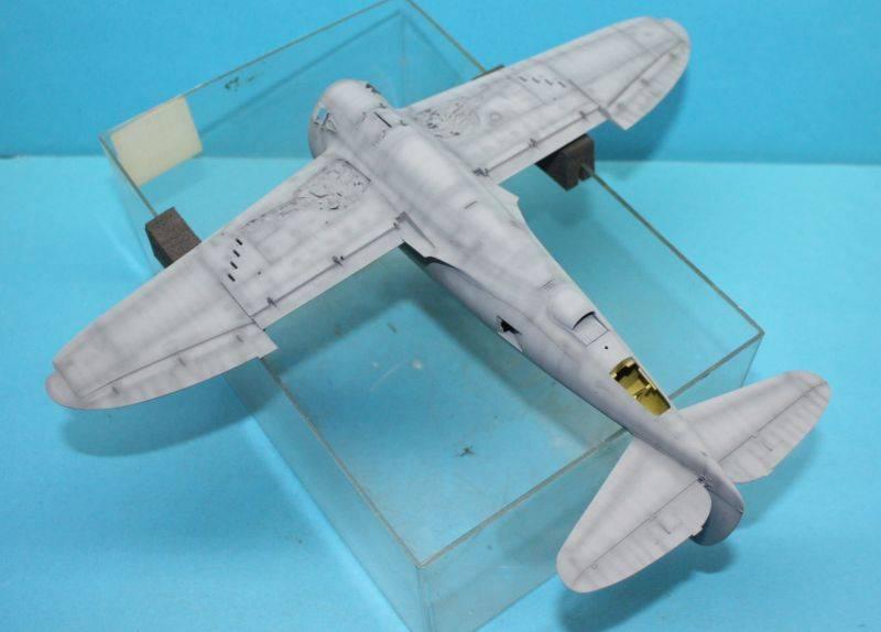 P-47 D Razorback Tamiya 1/48 P-47D057