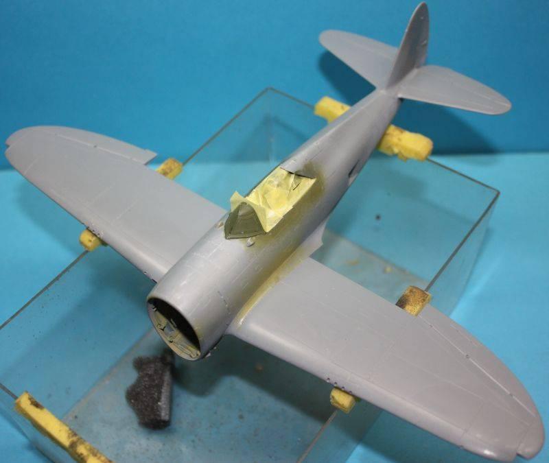 P-47 D Razorback Tamiya 1/48 P-47D069