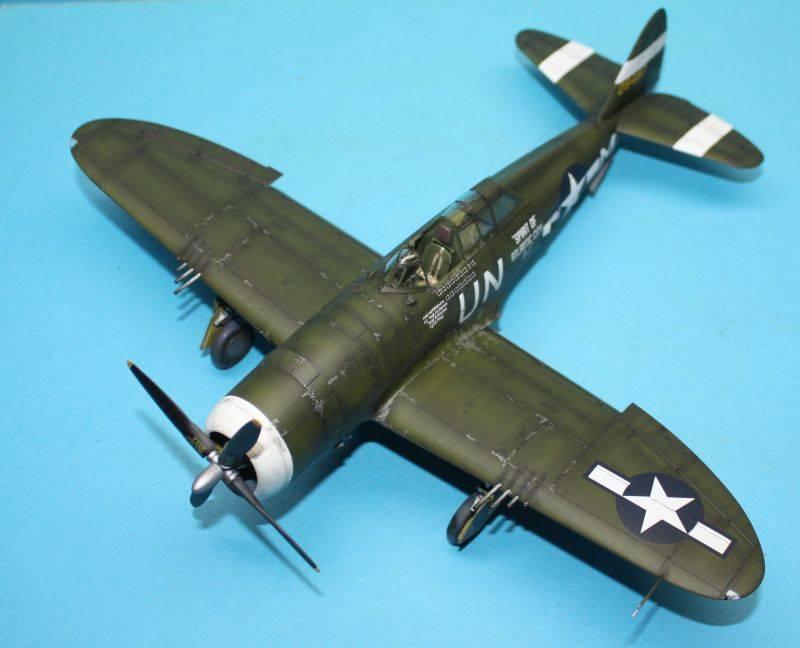P-47 D Razorback Tamiya 1/48 P-47D161