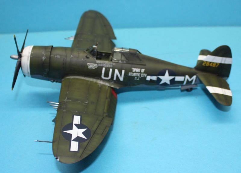 P-47 D Razorback Tamiya 1/48 P-47D162