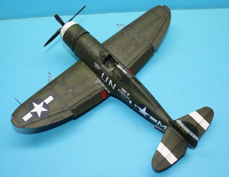 P-47 D Razorback Tamiya 1/48 P-47D163