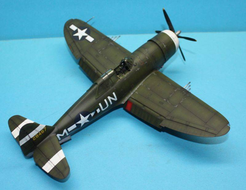 P-47 D Razorback Tamiya 1/48 P-47D164