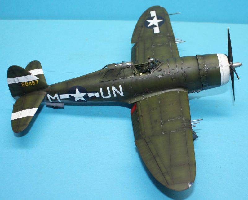 P-47 D Razorback Tamiya 1/48 P-47D165