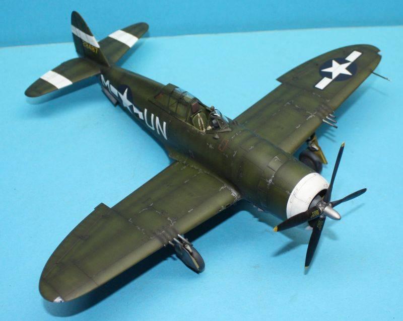 P-47 D Razorback Tamiya 1/48 P-47D166