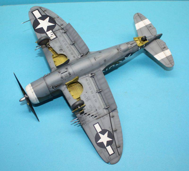 P-47 D Razorback Tamiya 1/48 P-47D168