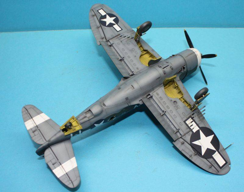 P-47 D Razorback Tamiya 1/48 P-47D169