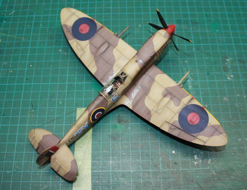 Spitfire Mk IX Early Version Spit158