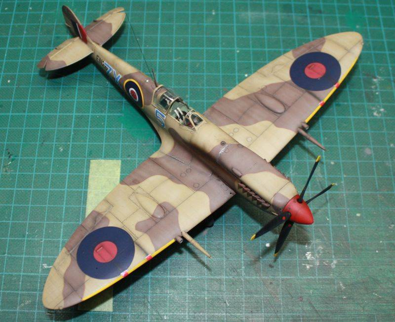 Spitfire Mk IX Early Version Spit159