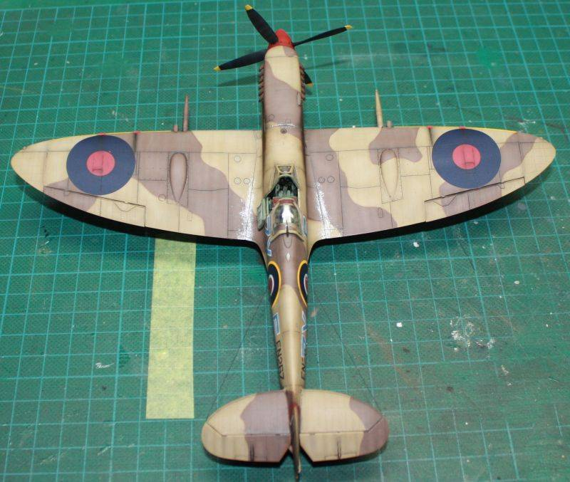 Spitfire Mk IX Early Version Spit161