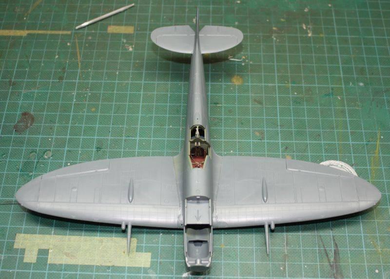 Spitfire Mk IX Eduard 1/48 SpitfireMKIX073